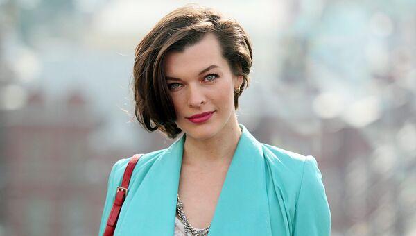 Актриса Милла Йовович, архивное фото