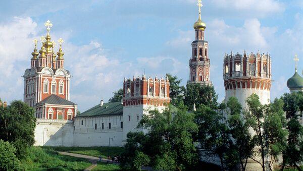 Вид на Новодевичий монастырь. Архивное фото