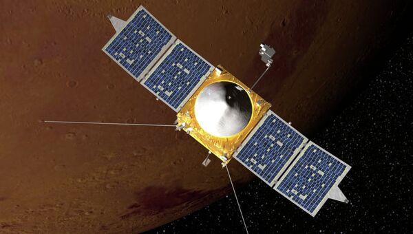 Новый марсианский зонд NASA MAVEN