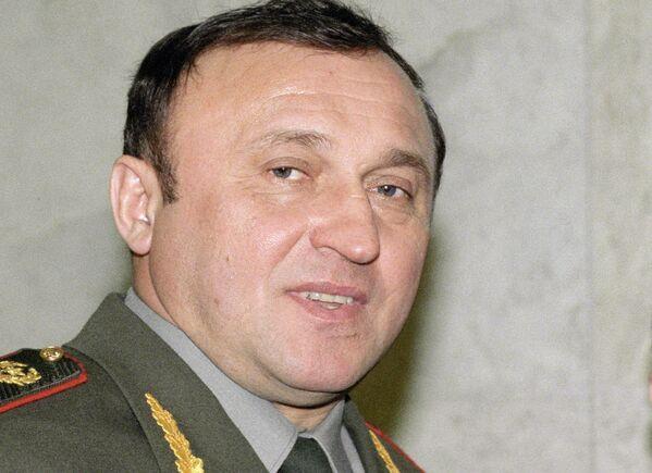 Экс-министр обороны России генерал Армии Павел Грачев