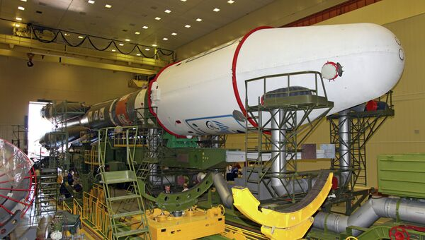 Ракета космического назначения Союз-2.1а. Архивное фото