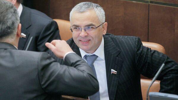 Виктор Пичугов на заседании Совета Федерации РФ. Архивное фото.