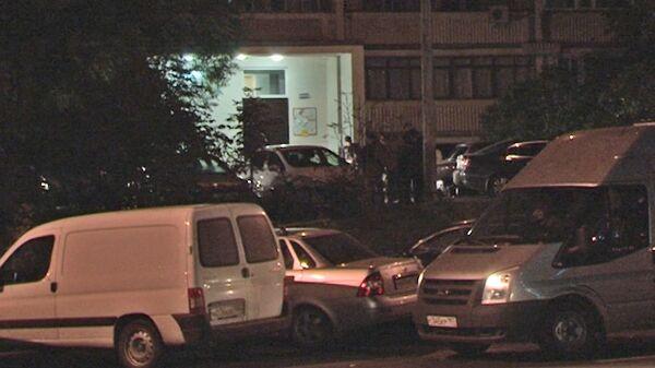 На месте убийства следователя Александра Леонова