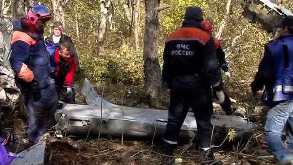 Спасатели достали черные ящики из-под обломков АН-28 на Камчатке