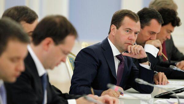 Заседание правительственного совета по развитию кинематографии