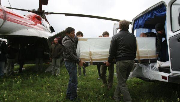 Транспортировка мумии Принцессы Укока на Алтай