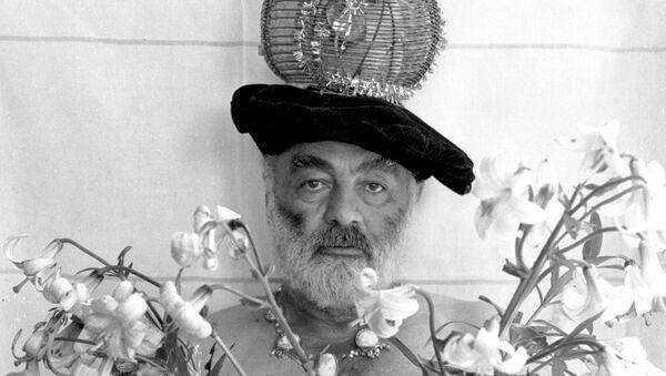 Сергей Параджанов, автопортрет, 1988