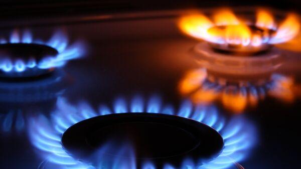 Газовые конфорки, архивное фото