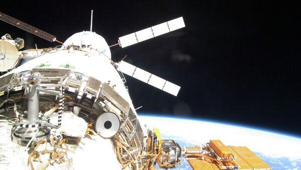 Отстыковку ATV от МКС, архивное фото