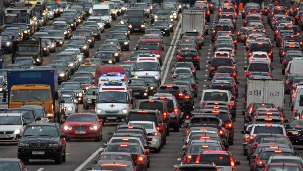 Автомобильные пробки. Архив