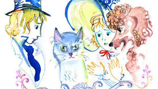 Рисунок из книги Екатерины Борисовой Счастливый конец