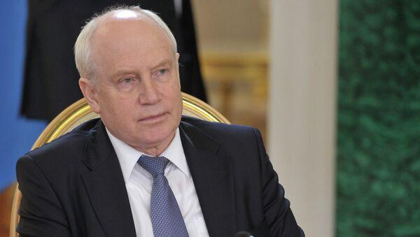 Председатель Исполнительного комитета – исполнительный секретарь СНГ Сергей Лебедев. Архивное фото