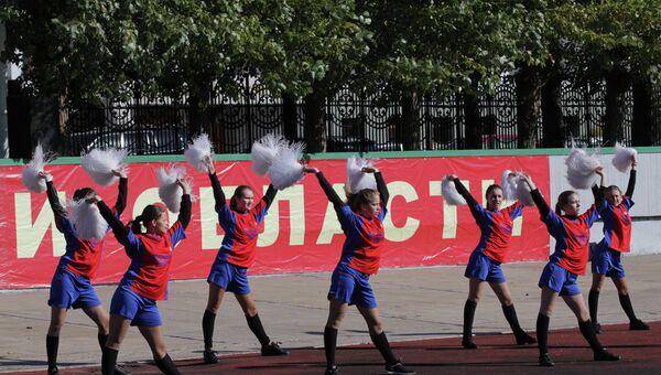 В Омске разыграли Кожаный мяч