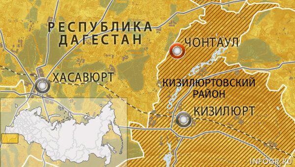 Село Чонтаул Кизилюртовского района Дагестана