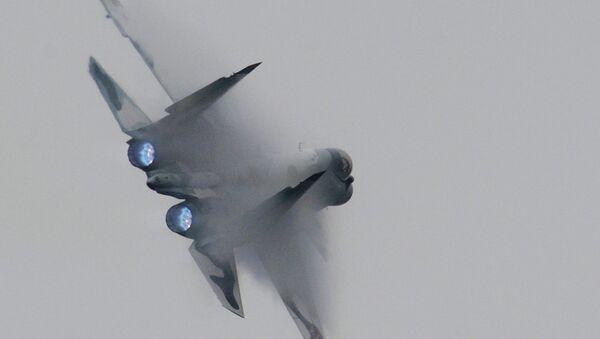 Многофункциональный истребитель Су-30 МКИ. Архивное фото