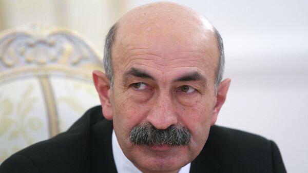 Министр иностранных дел Южной Осетии Мурат Джиоев. Архивное фото