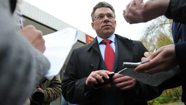 Кандидат в мэры города Химки Олег Шахов