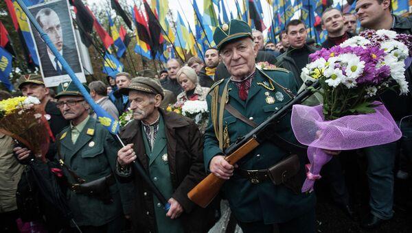 Марш по случаю 70-летия Украинской повстанческой армии. Архивное фото
