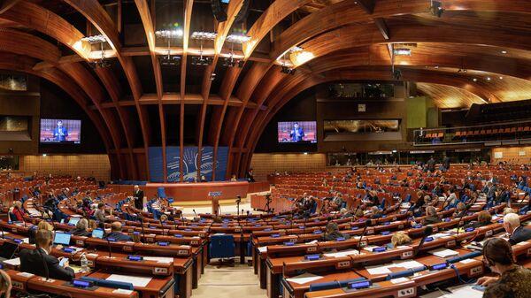 Зимняя сессия ПАСЕ в Страсбурге