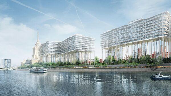 Проект развития Бадаевского пивоваренного завода в Москве (категория Best futura megaproject премии MIPIM 2020)