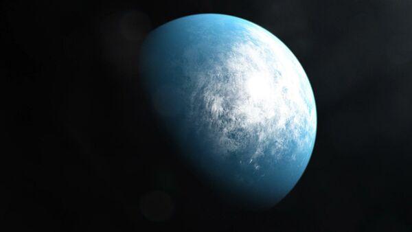 Планета TOI-700 d в представлении художника