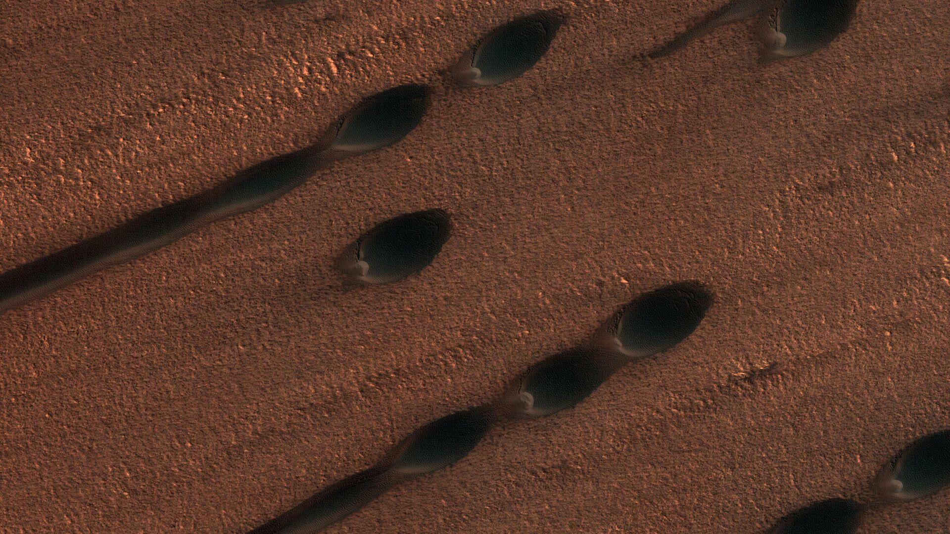 Песчаные дюны на Марсе - РИА Новости, 1920, 30.09.2020