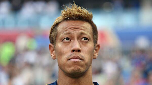 Футболист Кэйсуке Хонда