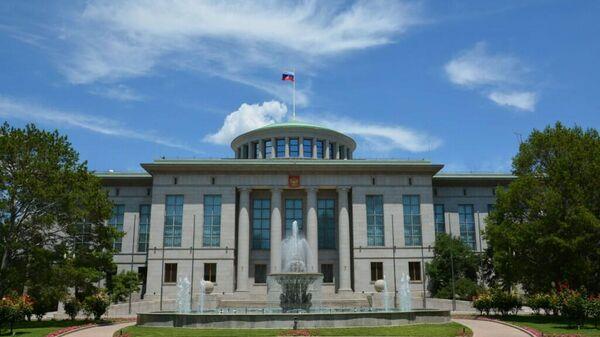 Здание посольства России в Пекине