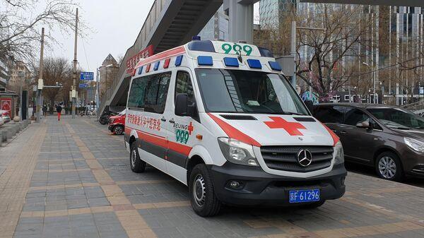Автомобиль скорой медицинской помощи в Китае