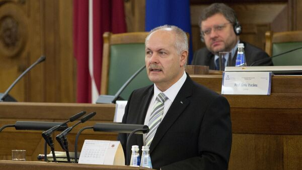 Cпикер парламента Эстонии Хенн Пыллуаас