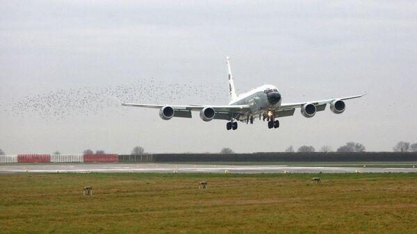 Самолет RC-135W Rivet Joint британских ВВС