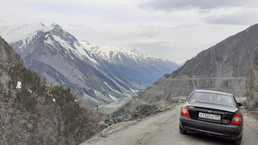 Индия. Перевал Зоджи, самый сложный в северной Индии