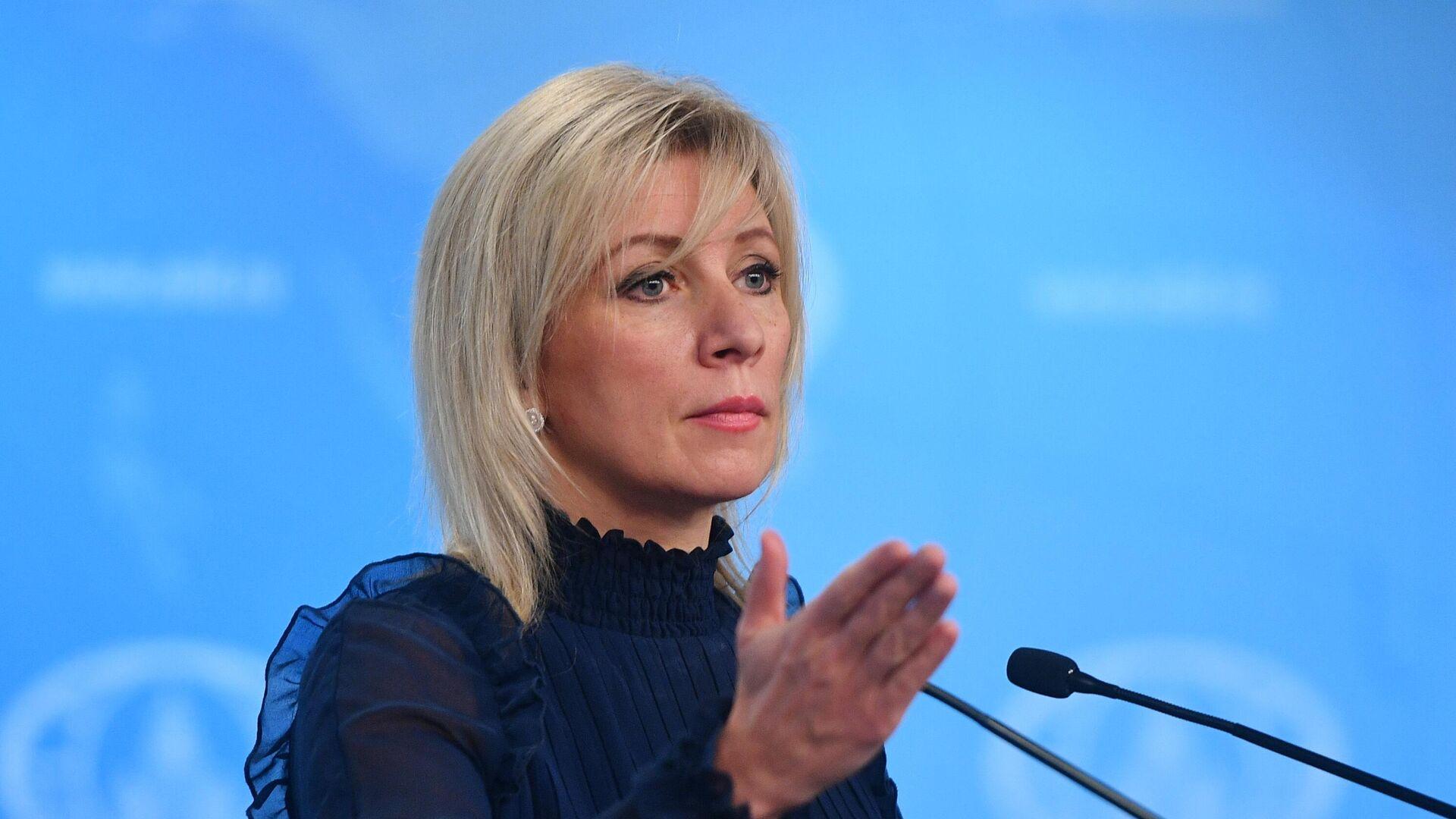 Официальный представитель Министерства иностранных дел России Мария Захарова - РИА Новости, 1920, 14.01.2021