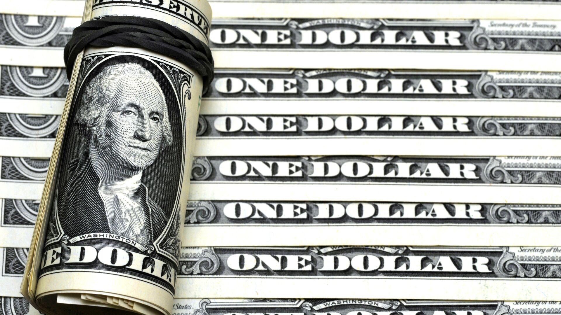 Американские доллары - РИА Новости, 1920, 09.04.2021