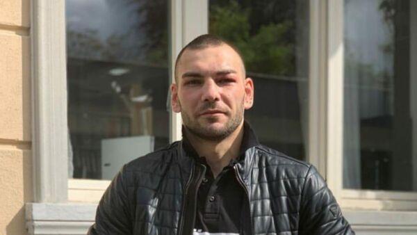 Российский боксер Евгений Шведенко