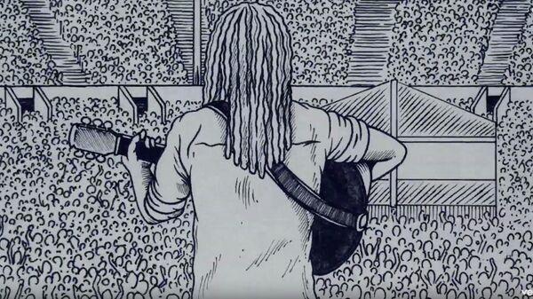 Кадр из клипа на песню Bob Marley & The Wailers - Redemption Song