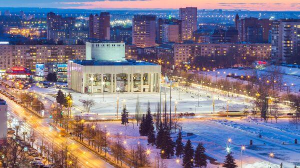 Здание Пермского академического Театра-Театра на Эспланаде в Перми