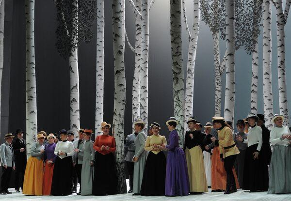 Прогон оперы Сомнамбула в Большом театре