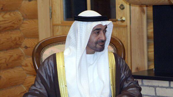 Наследный принц Объединенных Арабских Эмиратов Абу-Даби Мухаммед бен Заид Аль Нахайян. Архив