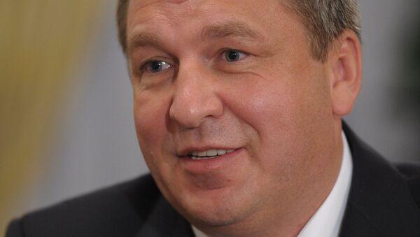 Новый министр регионального развития России Игорь Слюняев