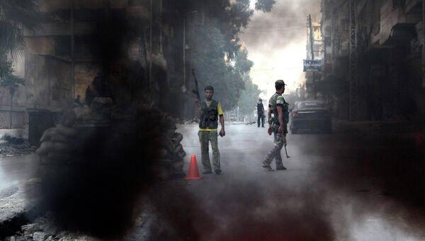 Беспорядки в Алеппо, Сирия. Архив