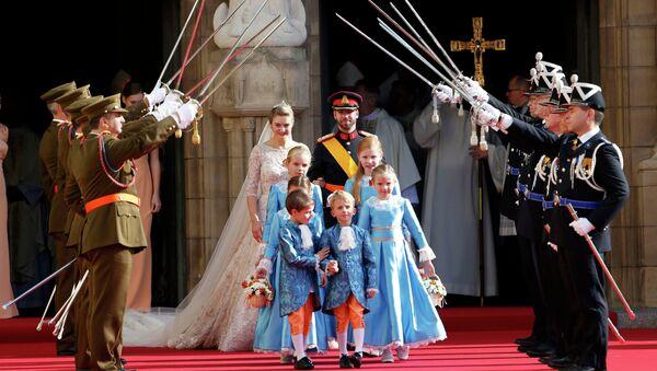 Свадьба принца Гийома в Люксембурге