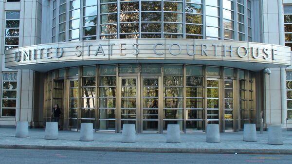 Здание федерального суда в США, архивное фото