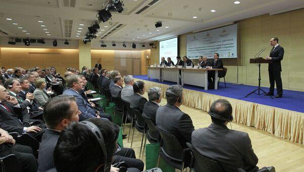 Встреча Д.Медведева с сотрудниками Федеральной таможенной службы