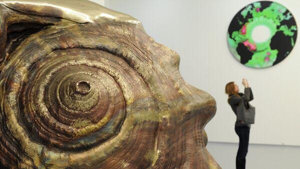 Открытие выставки Марка Куинна