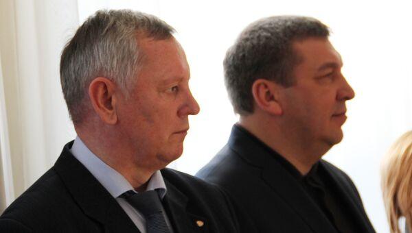 Владимир Левдиков и Игорь Слюняев