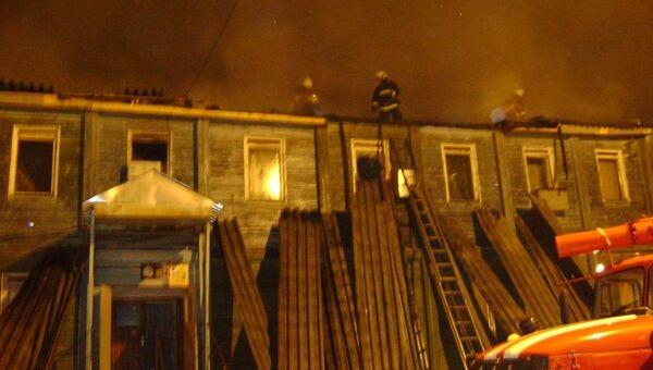 Пожар в общежитии в ЯНАО
