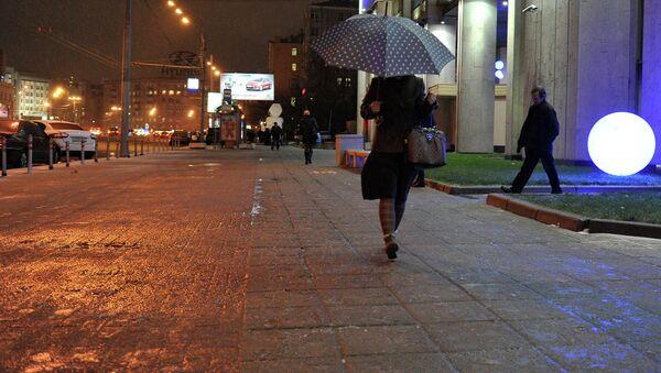 Ледяной дождь в Москве. Архив