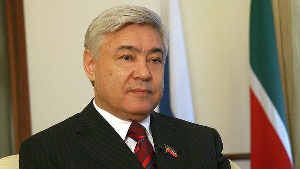 Председатель Государственного Совета Татарстана Фарид Мухаметшин. Архивное фото.