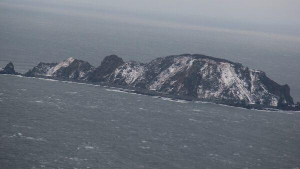 Шантарские острова в Охотском море